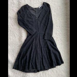 Lush lace mini dress
